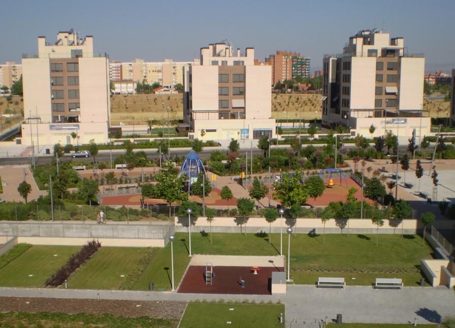 Jardin del vivero fase i vppl viviendas en venta en - Vivero madrid centro ...