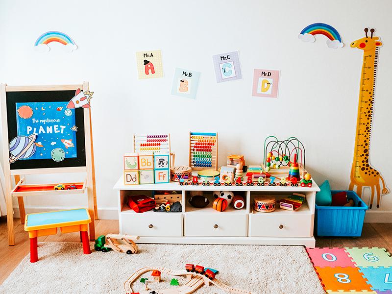 1d8cfe061fe1 [MÉTODO MONTESSORI] Ideas para decorar habitaciones infantiles | Realia
