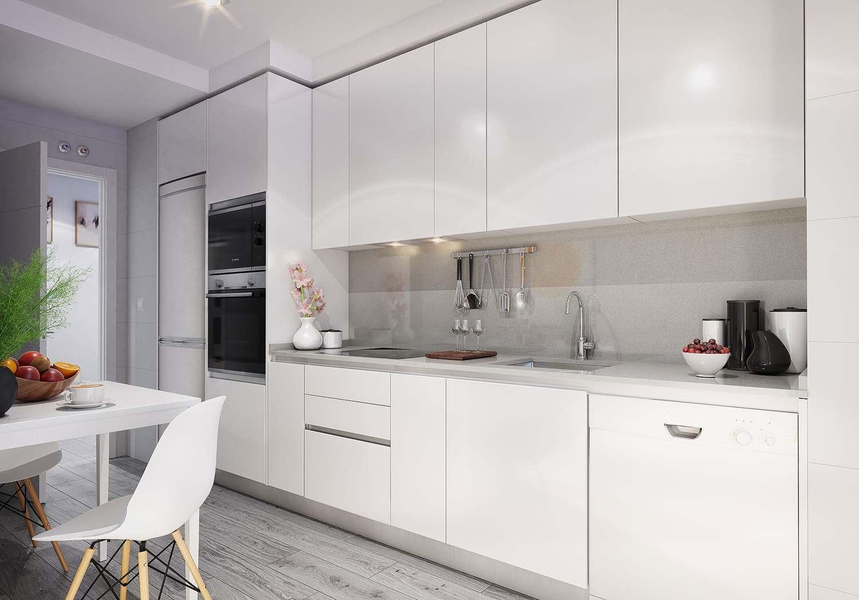 cocina pisos nuevos les masies