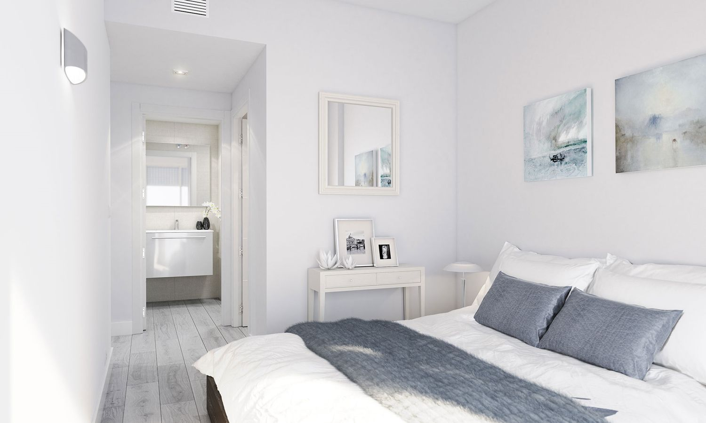 dormitorio pisos obra nueva les masies