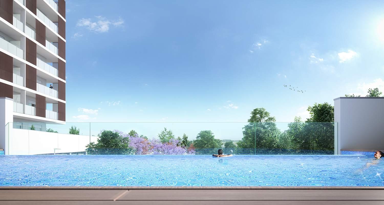 pisos obra nueva con piscina sant joan despi