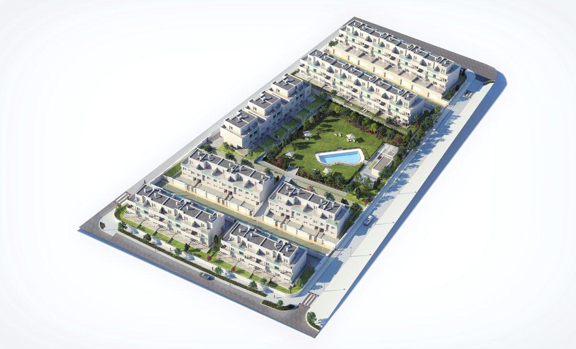 viviendas tres cantos de obra nueva