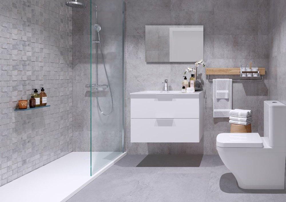 baño pisos obra nueva alcala de henares