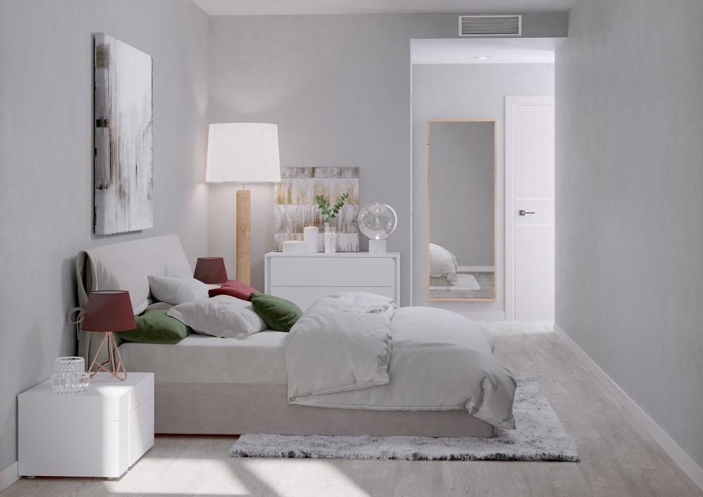 pisos obra nueva alcala de henares dormitorio