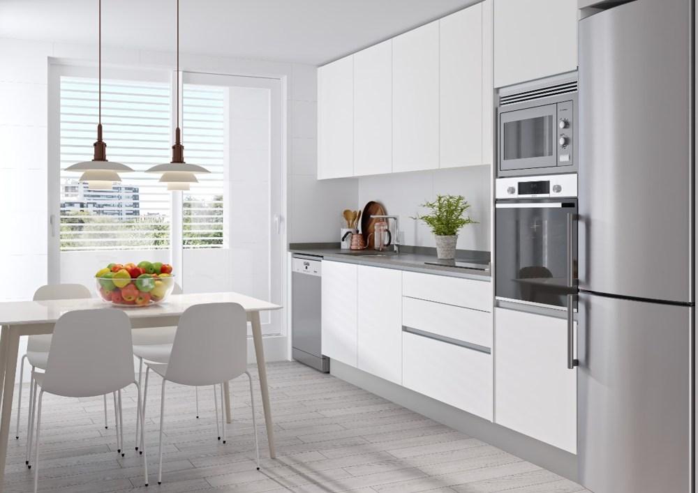 Cocina pisos Valdebebas obra nueva