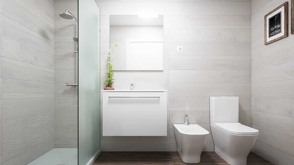 baño pisos obra nueva palma mallorca