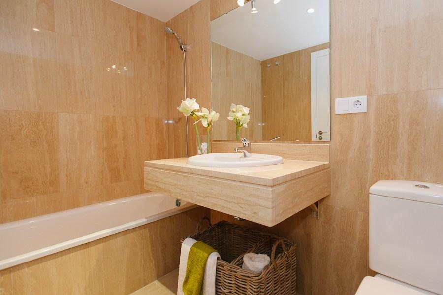 baño viviendas obra nueva guillena