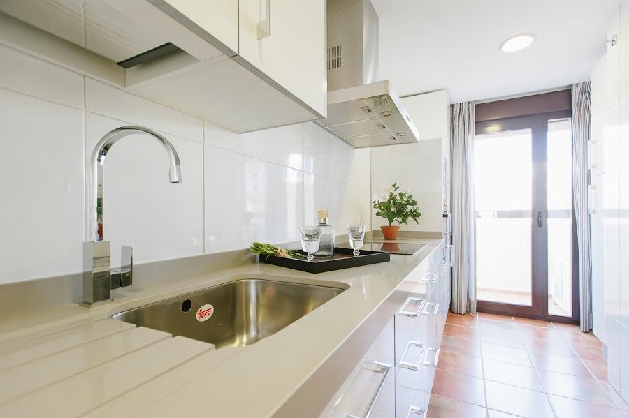 cocina viviendas obra nueva guillena