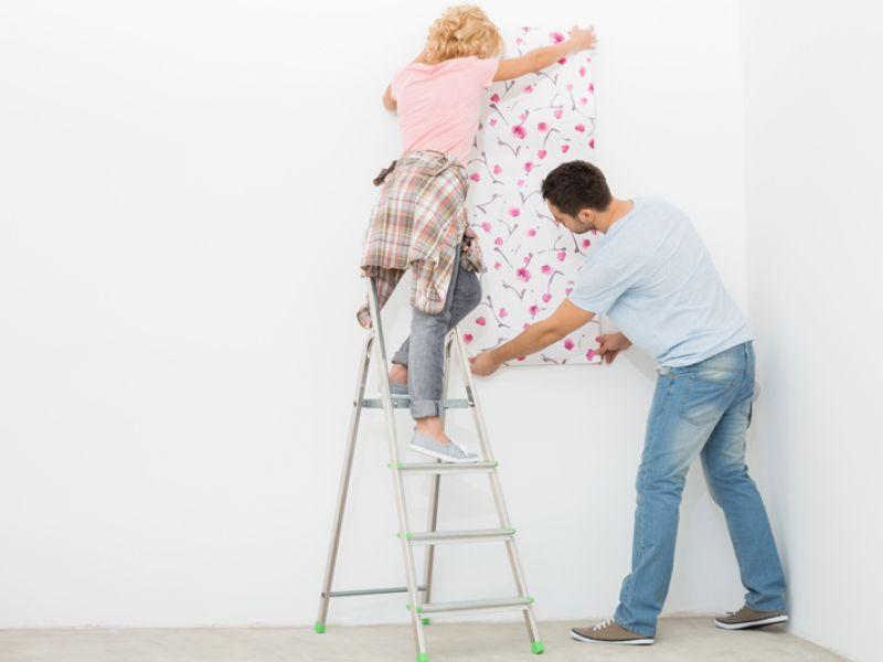 Se puede colocar el papel pintado sobre gotel realia inmobiliaria - Papel pintado para gotele ...