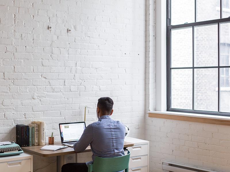 Crear un despacho en casa