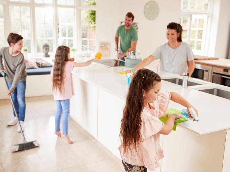 tareas hogar familia