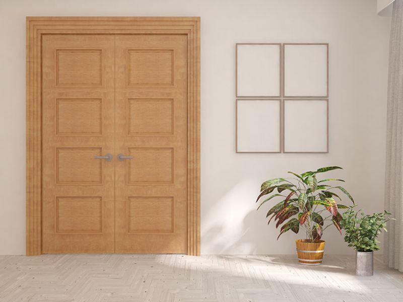 Puertas pintadas originales