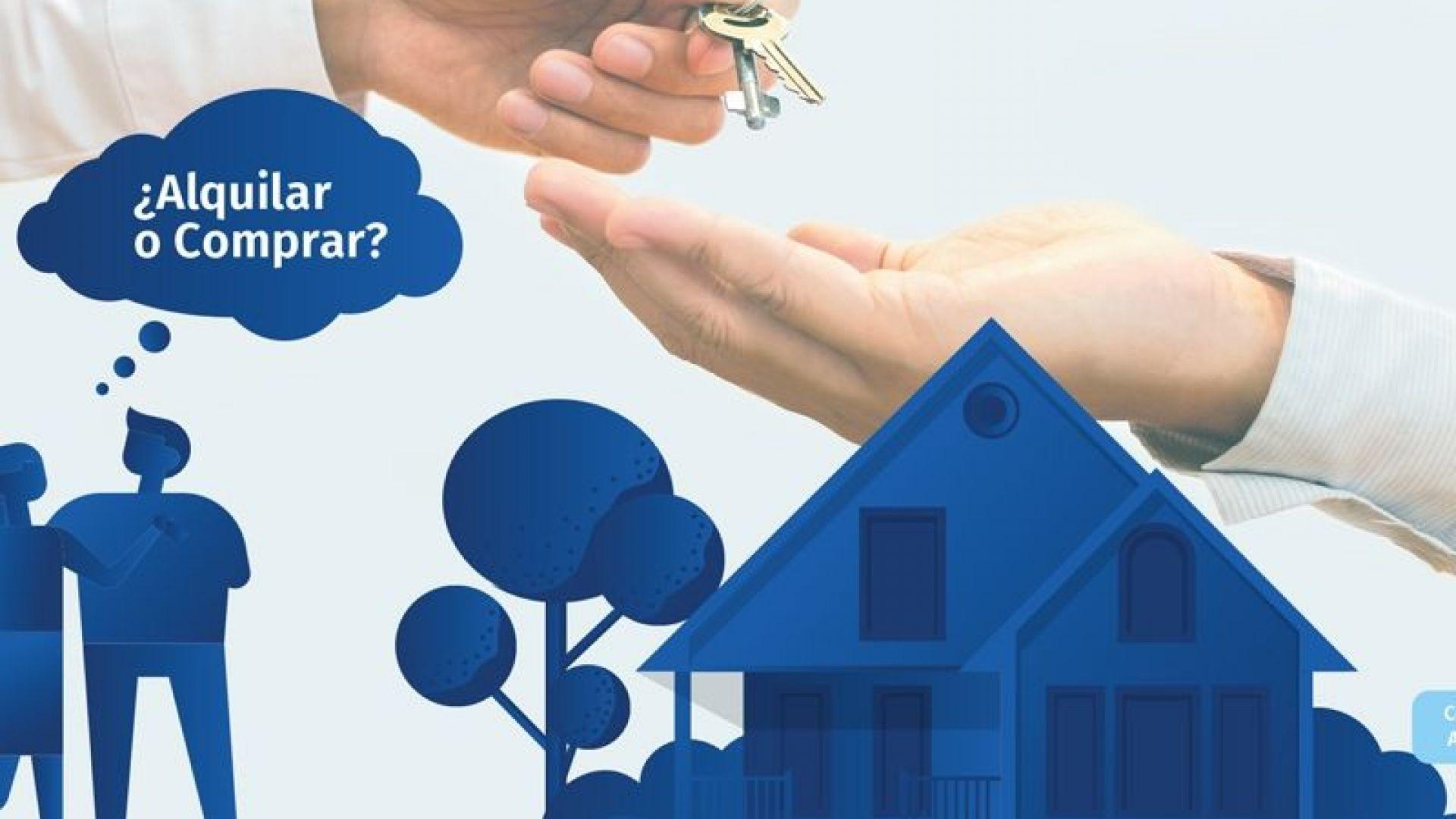 Qué es mejor comprar o alquilar una vivienda