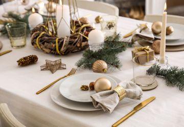 Como preparar la mesa de Navidad